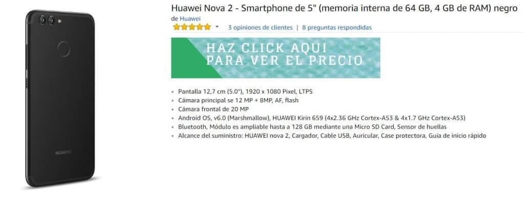 Huawai Nova 2